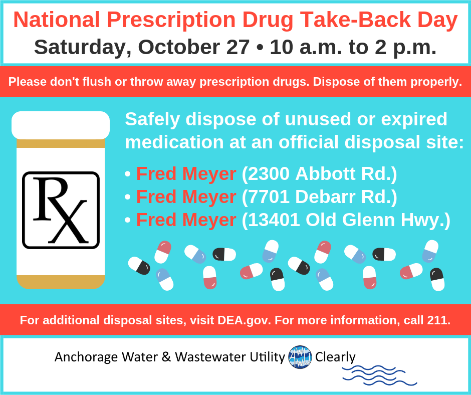 Drug Take-Back Day Fall 2018
