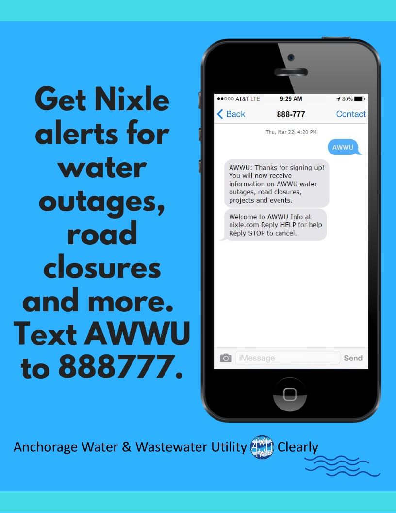 AWWU Nixle SignUp Instructions